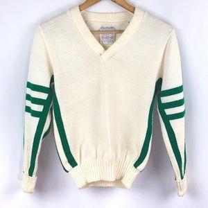 Amazing VINTAGE cheerleader sweater size Small